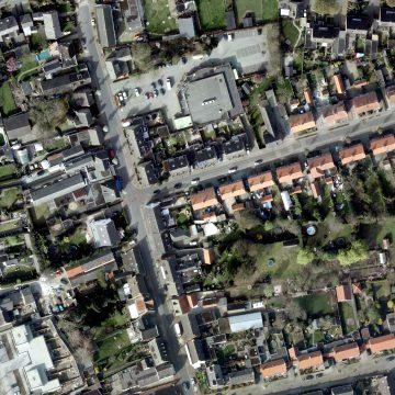 Luchtfoto Baverdestraat
